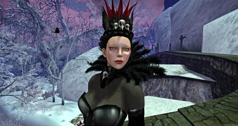Enchantment Raven Queen Face